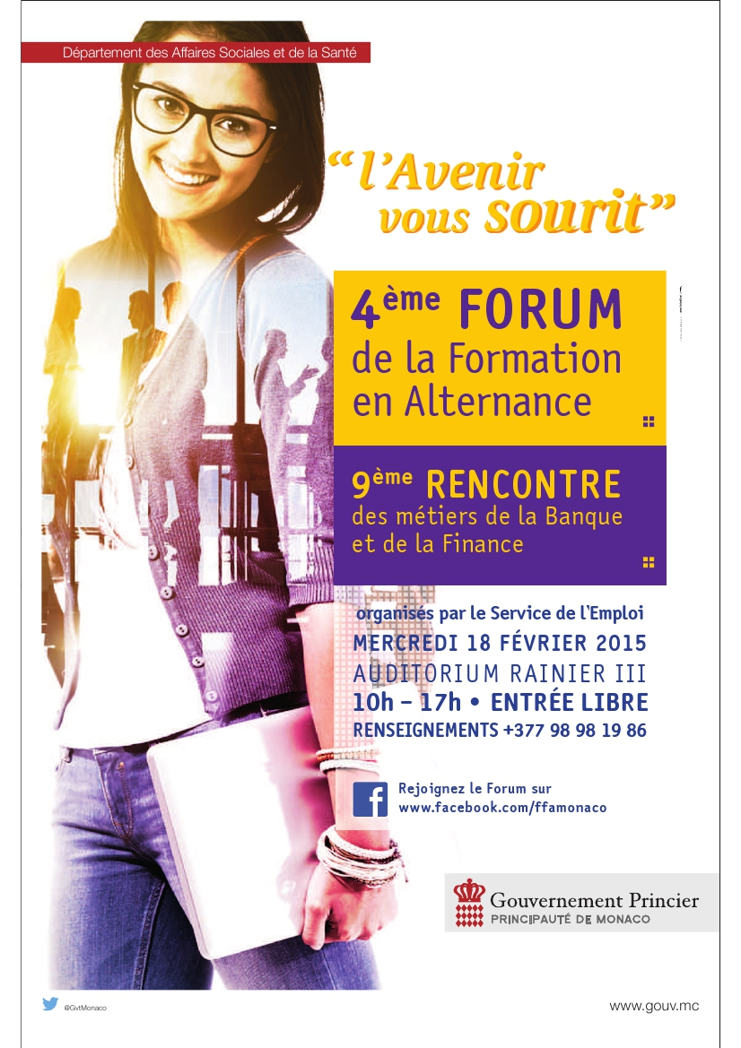 Visuel Forum Formation Alternance