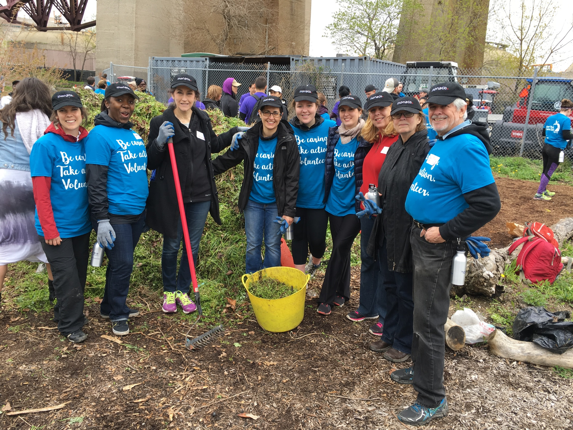 Team Monaco NY Cares Day April 22 2