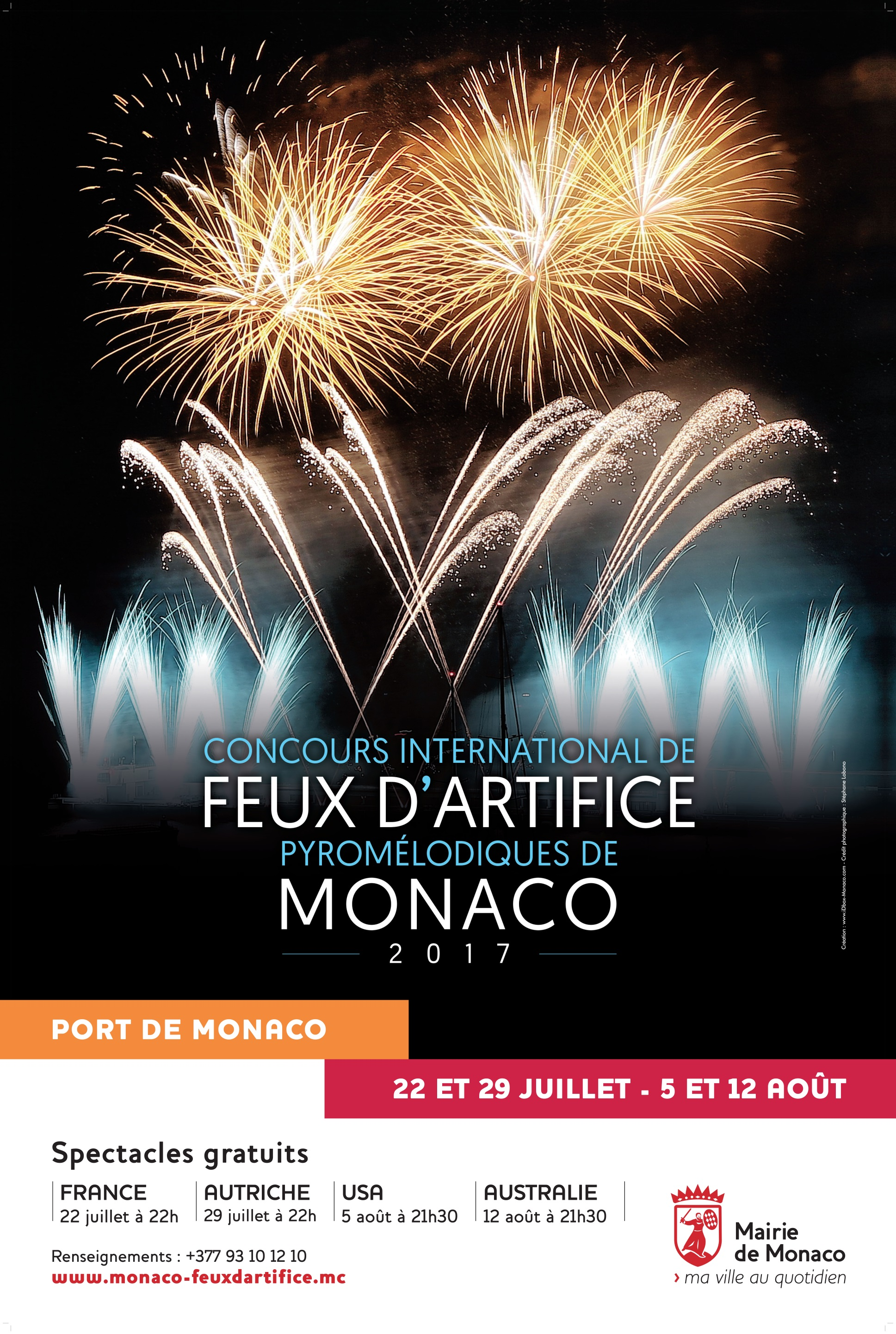Concours International de Feux dArtifice 2017