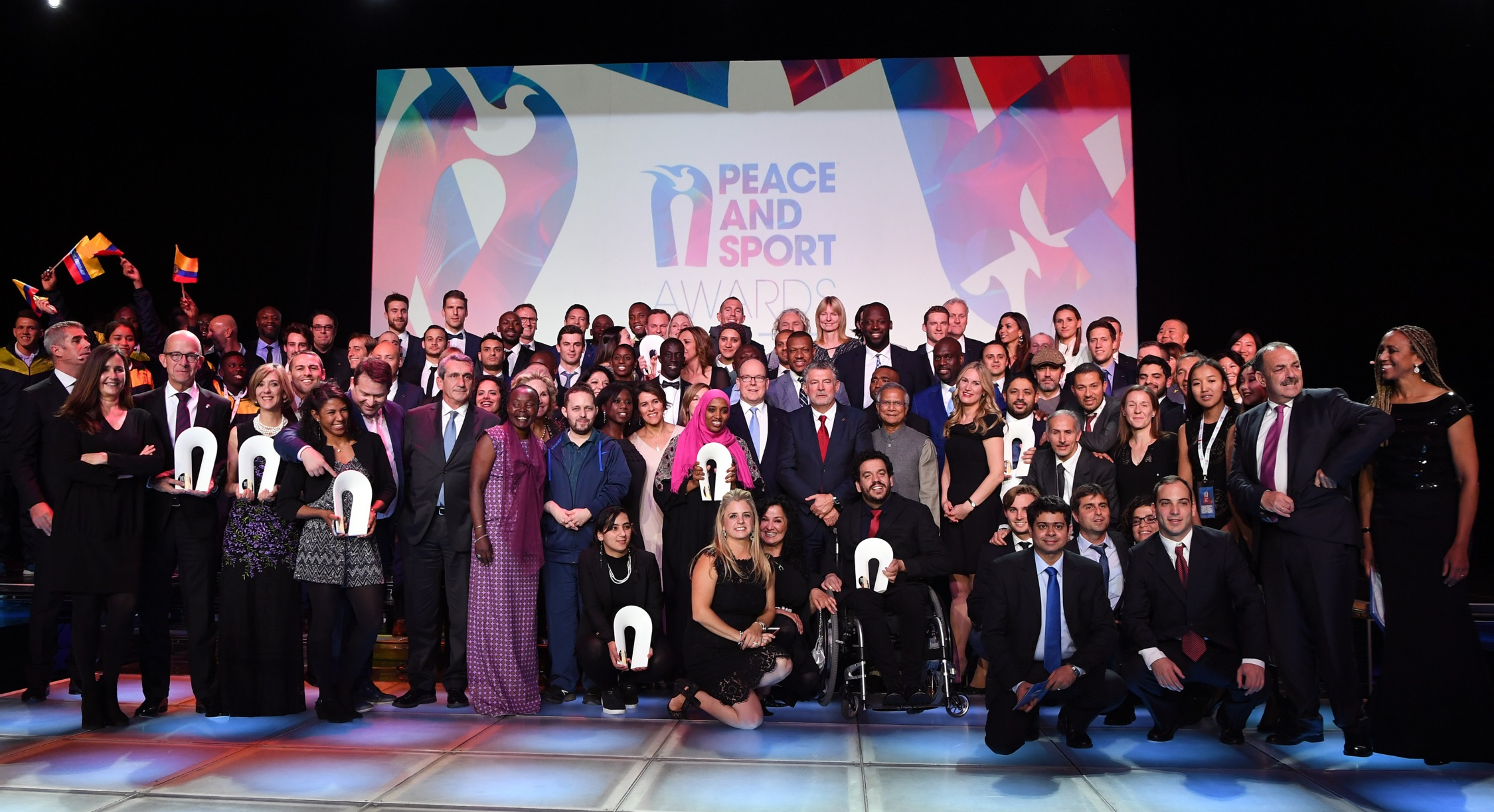 Gala Peace sport Manuel Vitali Direction de la Communication