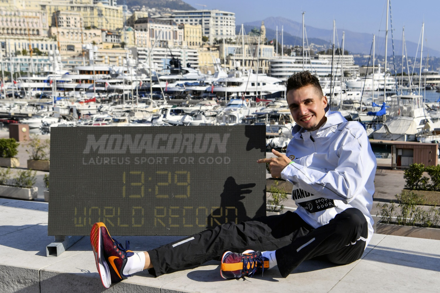 Monaco Run 2019 Julien Wanders Manuel Vitali Direction de la Communication