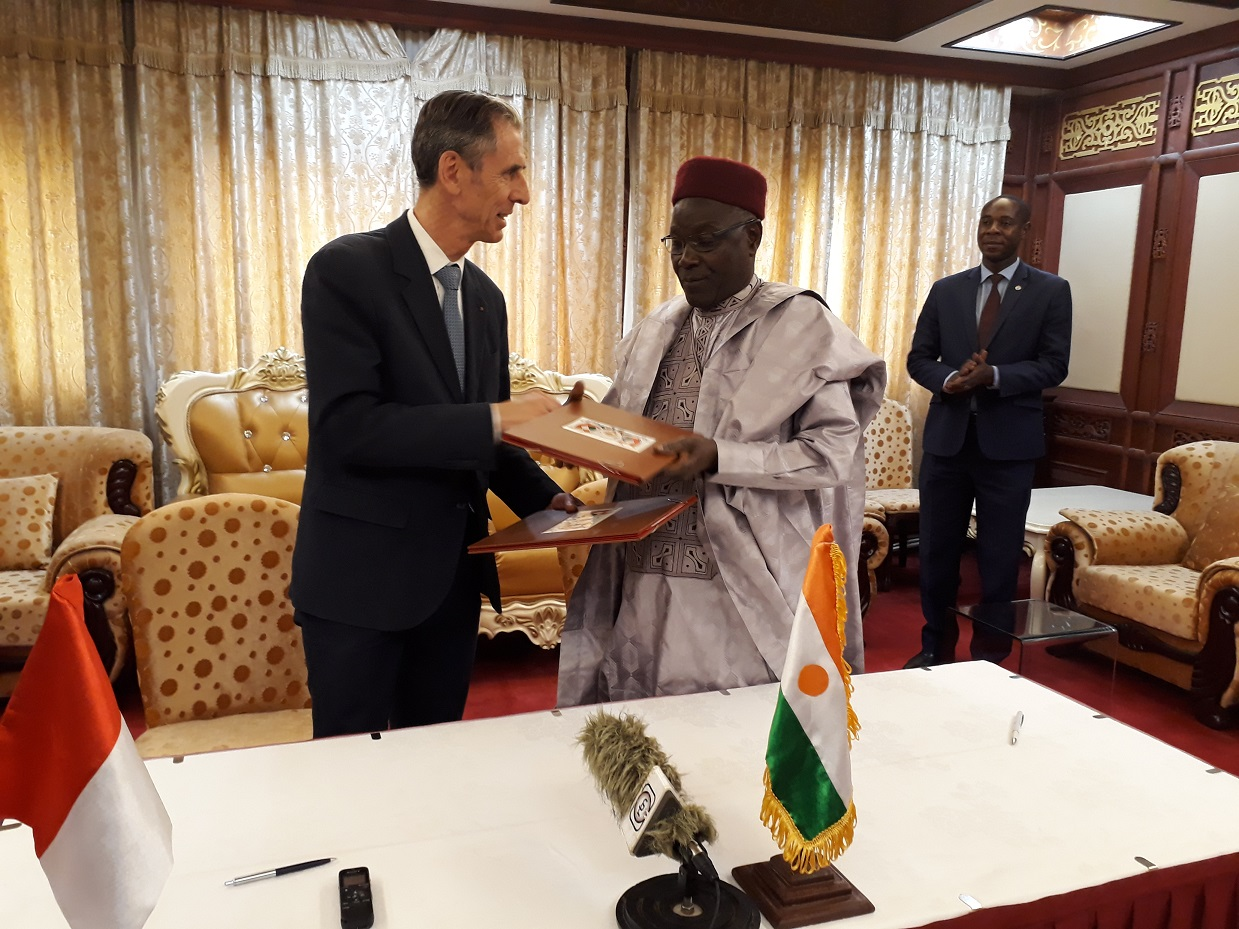 signature accord coopération Niger